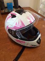 Casque moto Medium/Large 100$ négo