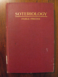 RARE book: 1927 SOTERIOLOGY Treatise on the Redemption - POHLE
