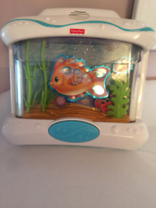 Fisher Price Crib attaching baby soother