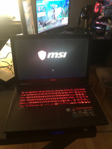 """Msi Gaming laptop  17"""""""