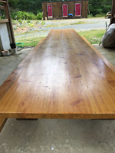 Beautiful handmade refectory table