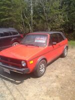 1982 VW convertible 2 DAYS ONLY.