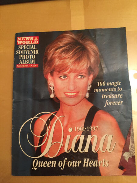 "Princess Diana ""New of the World - Special Photo Album"" 1997"