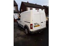 FORD TRANSIT CONNECT CREWCAB BREAKING