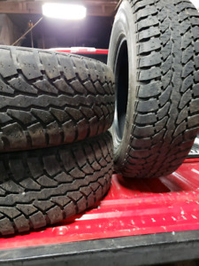LT 245/70/17 winter tires  Ford f150