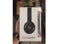 Brandnew Beats Solo 2 black boxes cheap gift Dr Dre music headphones B
