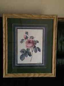 Wall Rose Picture With a Frame London Ontario image 4