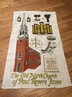 Paul Revere Church Tea Towel