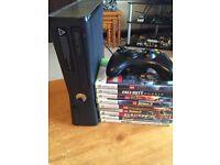 Xbox 360 250GB + 9 Game Bundle £80
