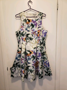 Floral H&M designer dress with pockets