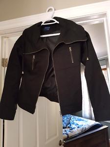 Never worn black spring coat