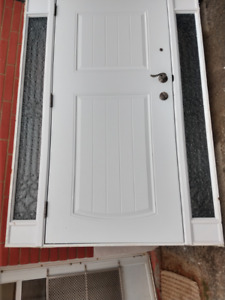 Front Door Set, almost brand new