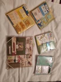 5 card making kits!