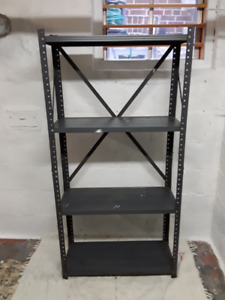 5 ft.  High--  Steel Shelving Unit