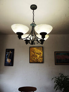 Chandelier with Character!