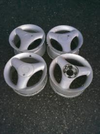 ford peugeot citroen audi 4x108 alloys wheels retro rs xr saxo
