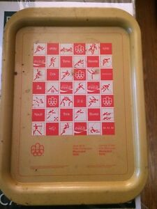 1996 Montreal Olympic metal tray