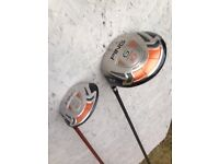 Ping g10 left hand driver and 4 wood