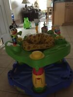 "Evenflo ""Farm friends"" exersaucer."