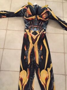 BRAND NEW TRANSFORMERS COSTUME SIZE 7/8
