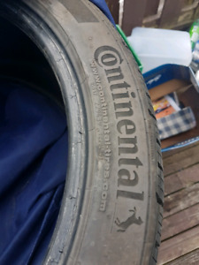 Continental Procontact TX Tires set of Four