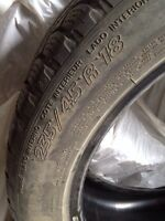 For sale Michelin 235 45 rim 18