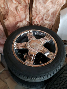 ReducedAmerican Racing custom wheels 26550R20 fits Dodge Dakota