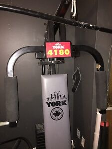 York 4180 weight system