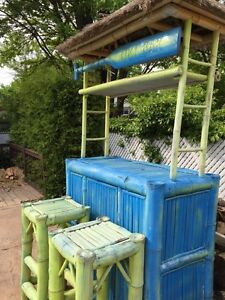 ***Summer Bamboo Tiki Bar***