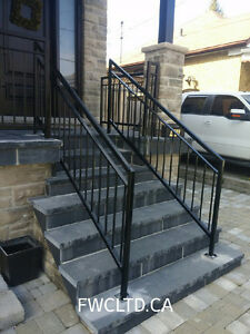 Wrought Iron Metal Solid Fence Panels, Railings, Gates London Ontario image 10