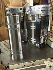 New Stainless Steel Light fixtures