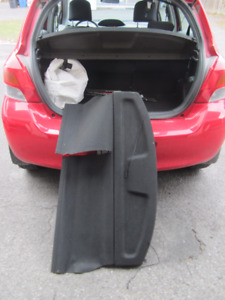 Original Toyota Yaris Hatchback Black Cargo Cover