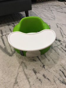 Bumbo Chair with Tray: Green