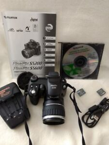 Fuji camera kit  model S5200 with accessories