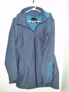 Bench Spring Jacket LG Grey/Teal $60- Like New