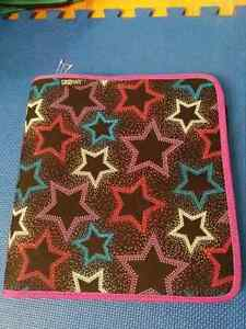 """NEW:Casemate 1.5"""" 3 Ring Curve Pocket Zippered Binders-$7(NO TAX"""