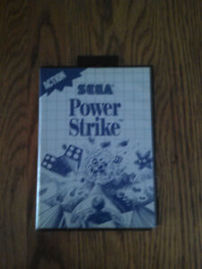 Power Strike for Sega Master System