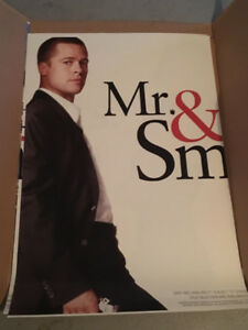Brad Pitt Angelina Jolie Mr & Mrs Smith Movie Posters