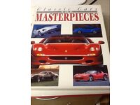 Classic cars Masterpieces Hard Back Book