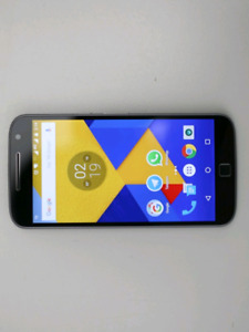 Moto G4 Plus 32 GB UNLOCKED Android W/ Case