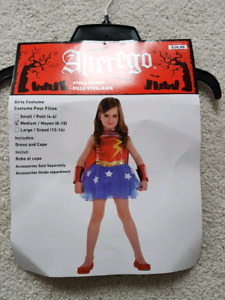 Wonder woman, super girl, Halloween costume for kid