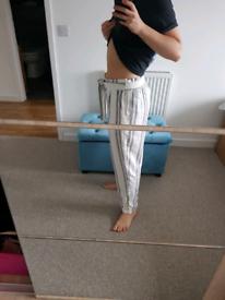 Linen trousers, size 12