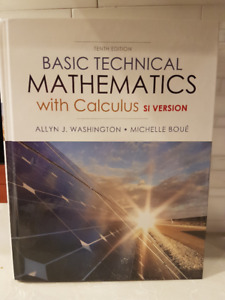 Basic Technical Mathematics with Calculus (No online Code)
