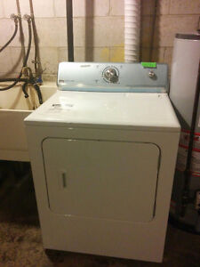 Kenmore Fridge and GE stove and clothing dyer