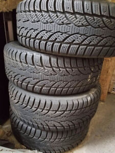 15inch Winter Tires on Rims