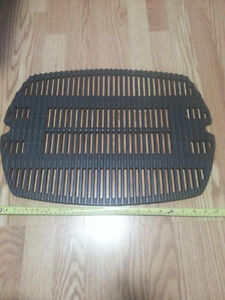 Weber cast iron grill for BBQ