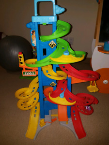 Sold pending pick up- Little people car track