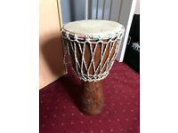 """9.5"""" Djembe Drum with bag"""
