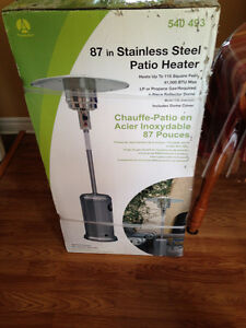 PATIO HEATER (Stainless Steel) $130.00 each or 2 for $250.00