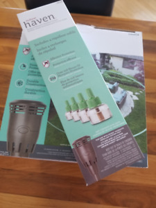 Nutone Haven Backyard Mosquito Repellent System plus refill kit